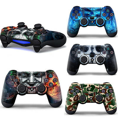 Designer Skin Cover Sticker for PS4 Playstation 4 Dualshock Controller Decal New