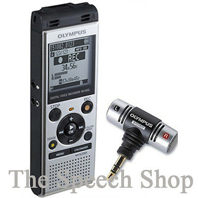 Olympus WS-852 4GB with Olympus ME-51S Stereo Microphone***FREE UK DELIVERY***