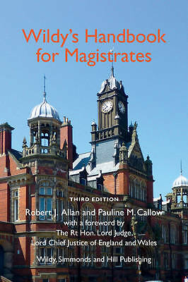 Book : Wildy's Handbook for Magistrates by Allan  Robert J. Paperback New