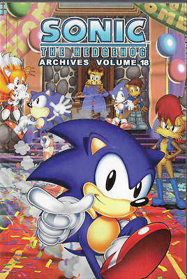 Sonic the Hedgehog Archives Volume 18 TPB 2012 Archie Comics OOP