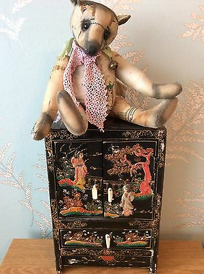 Portobello Amy Goodrich Limited 1 Of 1 Mai-Yui Chinese Style Bear With Cabinet
