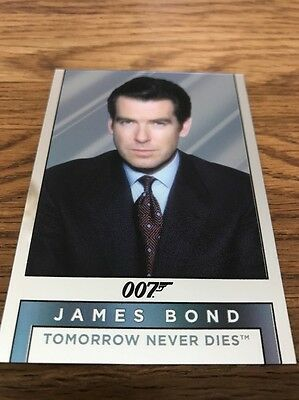 James Bond 007 Archives Final Edition Mirror Card M18 James Bond/Elliot Carver