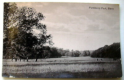 Porthkerry Park Barry Glamorgan posted 1917  E853
