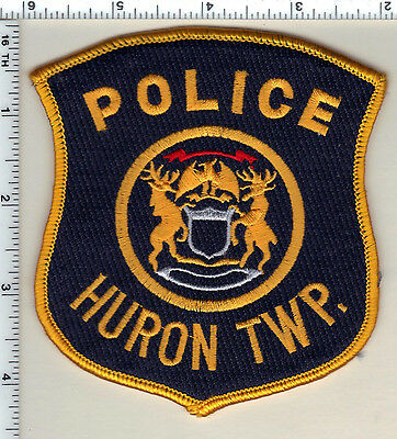 Huron Township Police (Michigan)  Shoulder Patch  - new from 1991