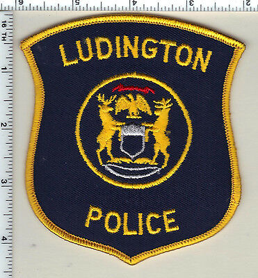 Ludington Police (Michigan)  Shoulder Patch  - new from 1991