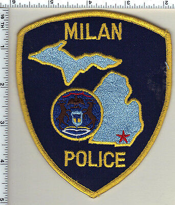 Milan Police (Michigan)  Shoulder Patch  - new from 1991