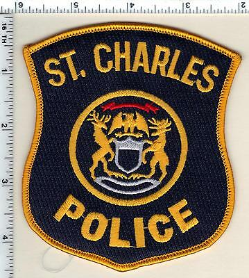 St. Charles Police (Michigan)  Shoulder Patch  - new from 1991