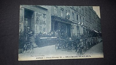 CARTE POSTALE SEDAN Place Crussy 26 MAISON HALMA