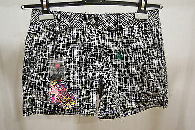 Protest Lovelace Shorts Black S Bermuda Women New Summer Skate