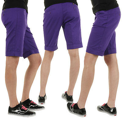 Dickies Inverness W Shorts Purple 26 27 28 29 30 Woman Bermuda New Skate Surf