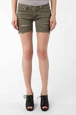 Insight Drunk And Disorderly Short Acdc Green 6 Woman Bermuda New Skate Surf