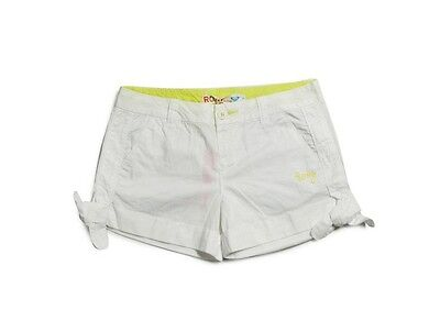 Roxy Mesh Shorts W White Sm Woman Bermuda New Skate Surf