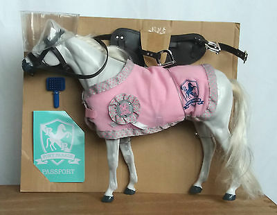 Chad-Valley Pony Parade grey white pony horse UK seller FREE SHIPPING