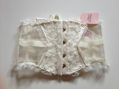 Agent Provocateur Ivory Petronella Waspie Size 3 / 8-10 Wedding Bridal Bnwt