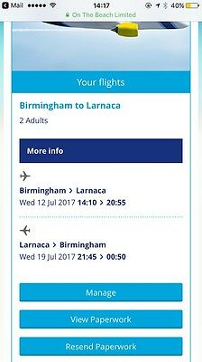 Flights Birmingham To Larnaca