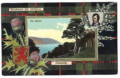 Old Postcard 'The Sutors' Cromarty - Murray of Athole