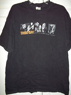 Third Day-Come Together Tour-T Shirt-Adult XLarge