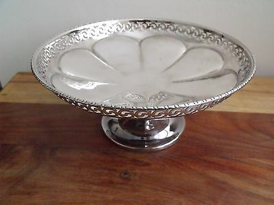 Silver Plated Perforated Fruit Bowl