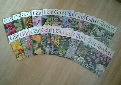 19 X The Garden Magazines (Rhs) From 2011 To 2013 Free P&p