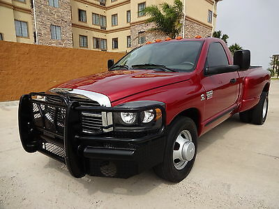2007 Dodge Ram 3500 ST 2007 Dodge Ram 3500 SLT Regular Cab 5.9L Cummins Turbo Diesel Engine