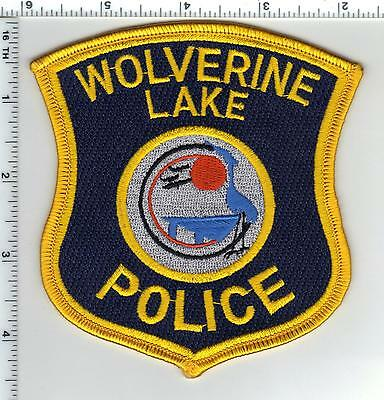 Wolverine Lake Police (Michigan) Shoulder Patch - new from the 1980's