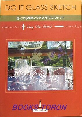 Easy Glass Sketch /Japanese Handmade Art Craft Pattern Book