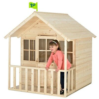 TP Summer Lodge Outdoor Playhouse, Childrens Garden Wendy House