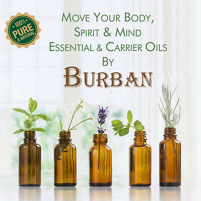 Essential & Carrier oils premium quality pure and natural by Burban