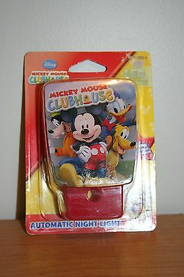 New Mickey Mouse Clubhouse Automatic Night Light Still in original packaging