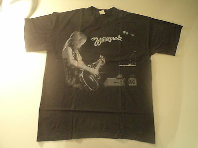 Vintage  WHITESNAKE  Unused T SHIRT  heavy metal skid row ratt guns n roses lp