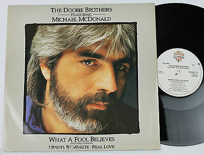 "DOOBIE BROTHERS (MICHAEL McDONALD) What A Fool Believes (ext) 12"" UK W8451T"