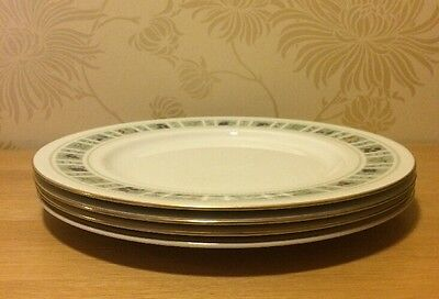 """Royal Doulton - Tapestry TC1024 - FOUR x  10 1/2"""" Dinner Plate - FREE UK POSTAGE"""