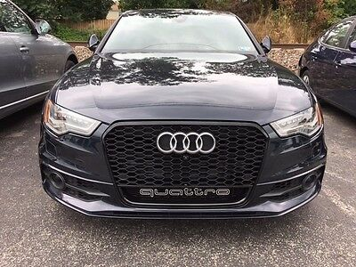 2012 2013 2014 2015 AUDi A6 MESH SPORT Grille RS6 Look C7 NIGHT VISION & CAMERA