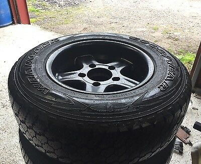 """Twisted 17"""" Sport Alloy Wheels & Tyres For Land Rover Defender"""