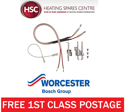 Genuine Worcester 24Si & 28Si Mk2 Ignition & Detection Electrode Kit 87161019010