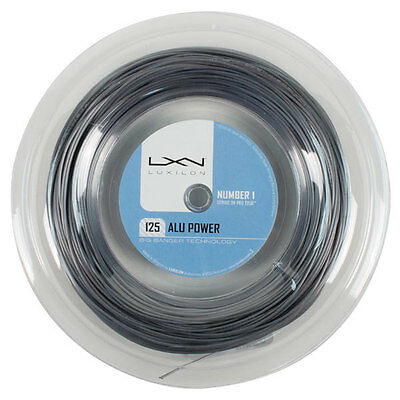 Luxilon Alu Power regular tennis string 330 ft mini reel, 1.25 ga..most popular