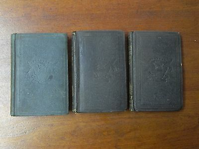 1862 Set of 3 Civil War Books - Infantry Tactics by Silas Casey - Army