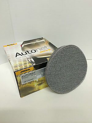 "Mirka Autonet Velcro 5"" (125mm) Mesh Sanding Discs Pack/5 P80 - P600 Available"