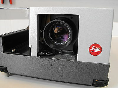 Leitz Pradovit color slide projector excellent condition Leitz colorplan CF lens