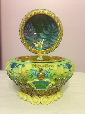"Walt Disney Peter Pan Music Box Plays ""You Can Fly! You Can Fly You Can Fly"""