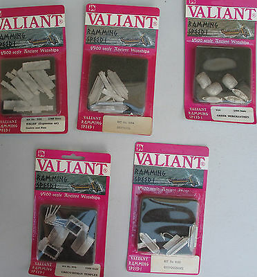 LOT OF 10 Ramming Speed Valiant Kits - 1/900 Scale. In Package NOS