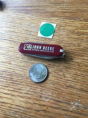 John Deere Swiss Army Type Pocket  Knife Extended Protection Plan Nice