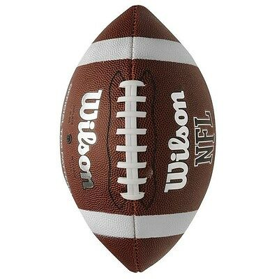 ✔ Official WILSON Football TDS NFL American Super Bowl Ball Soft Grip NEU League