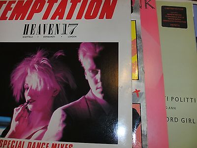 "Collection Of 1980s 12""  Vinyl Singles X19 Excellent Condition"