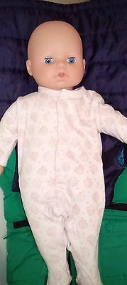 52cm Baby Doll Soft Body Beautiful Baby Exc Cond