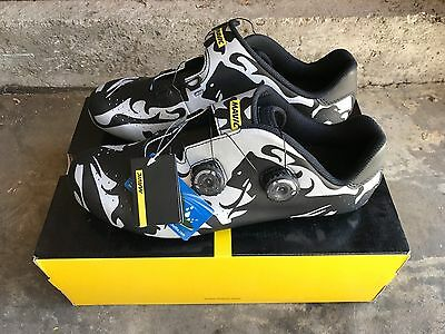 2017 NEW Mavic Limited Edition 46 Cosmic Carbon Road Shoes WORLDWIDE SHIPPING