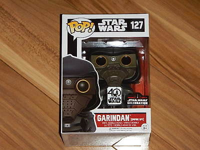 STAR WARS CELEBRATION 2017 FUNKO POP! GARINDAN (EMPIRE SPY) 40th ANNIVERSARY