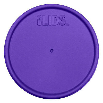 iLIDS Mason Jar Cap - Plastic - Wide - Purple