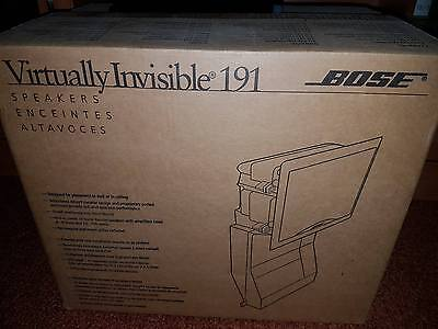 Bose Virtually Invisible 191 speakers (Pair) Brand NEW