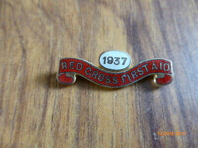 British Red Cross 1937 First Aid Badge